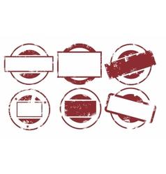 tamp set vector image