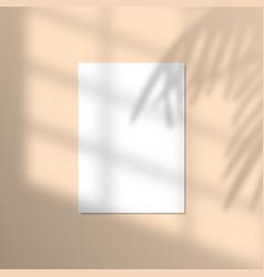 A4 paper mockup vector