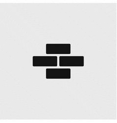 Bricks icon simple vector
