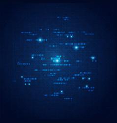 Light binary vector