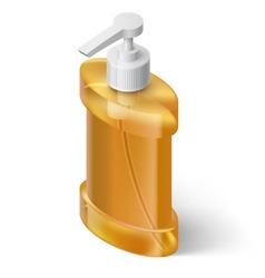 Liquid soap dispenser vector