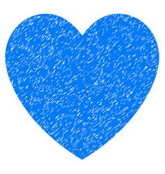 Love heart grunge icon vector