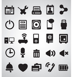 Set of Internet icons - part 2 vector image