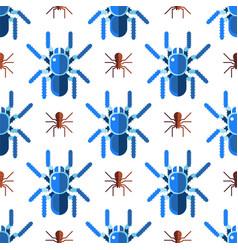 Spider web silhouette arachnid fear seamless vector