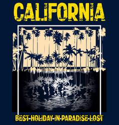 Summer graphic design tee artwork vector