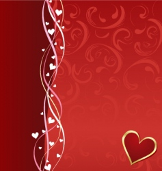 valentine composition vector image vector image