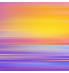 Abstract background with sunset vector