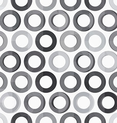 abstract monochrome circle seamless texture vector image