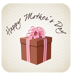 Greetings for Mothers day vector image