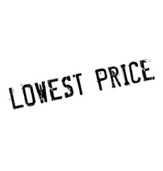 Lowest price rubber stamp vector