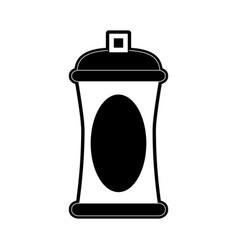 open aerosol can icon image vector image