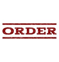 Order Watermark Stamp vector