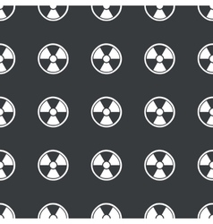 Straight black hazard pattern vector image
