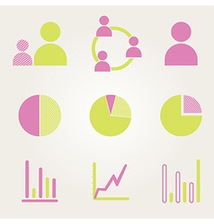Business Infographic icons - Graphics vector image