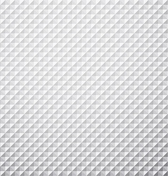 Grey textured cube background vector