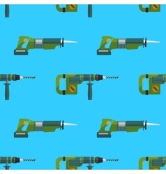 perforator reciprocating saw pattern vector image