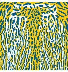 leopard background animal texture fur safari vector image