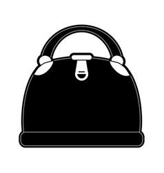 woman fashion bag vector image