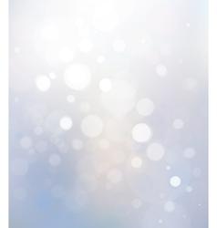 bokeh white background vector image vector image