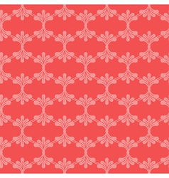Abstract red seamless pattern vector