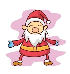 Character Santa Claus colection stock vector image