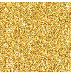 Golden glitter background - seamless pattern vector