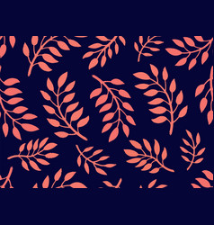 Seamless floral pattern bright pattern with vector