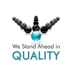 We stand ahead in quality vector