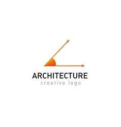 development creative logo architecture vector image vector image