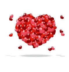 heart of hearts vector image
