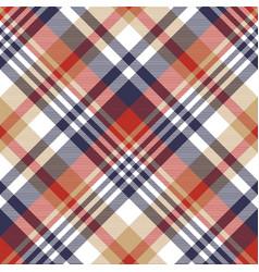 check classic tartan seamless pattern vector image vector image