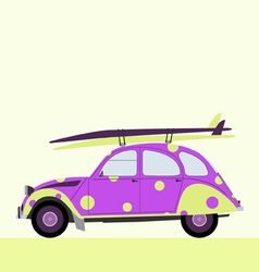 surf funny car vector image vector image