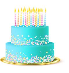 Wedding Cake Realistic vector image