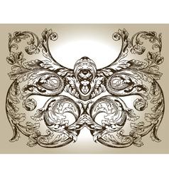 design ornament vector image