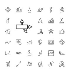 33 up icons vector