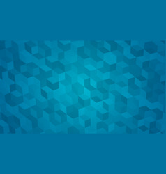 abstract background of isometric cubes vector image