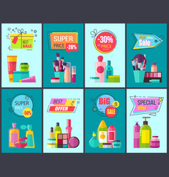 best sale and super price set vector image