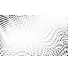 dot halftone wave pattern abstract background vector image