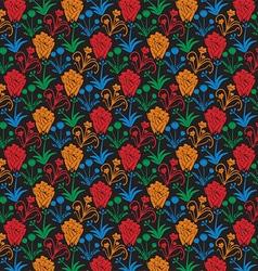 Flower Patterned Background vector image
