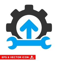 Gear Integration Tools Eps Icon vector