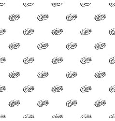 ooops comic book explosion pattern vector image