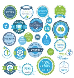 water recycling symbols vector image vector image