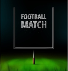 Football Match vector image vector image
