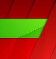 Modern layout layered background folder badge vector image vector image