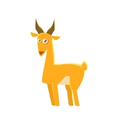 Gazelle Toy Exotic Animal Drawing vector image vector image