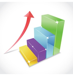 3D graphs vector image
