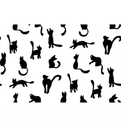 CatSilhouette2 vector image