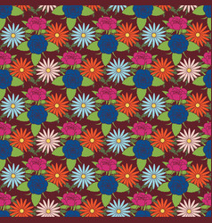 Floral seamless pattern background trend 2018 vector