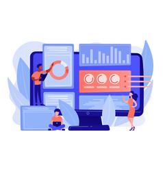 Innovation management software concept vector
