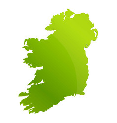 Ireland landmark teritory icon cartoon style vector
